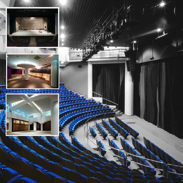 Московский Международный дом музыки, Театральный зал