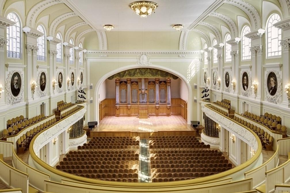 Московская консерватория им. П.И. Чайковского Большой зал